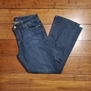 Tommy Hilfiger Womens Bootcut Jeans